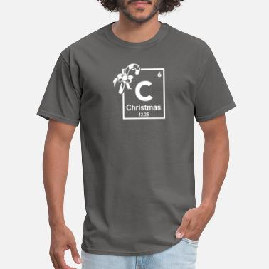 Periodic Table Of Elements Christmas Periodic Table Of Elements - Men's T-Shirt