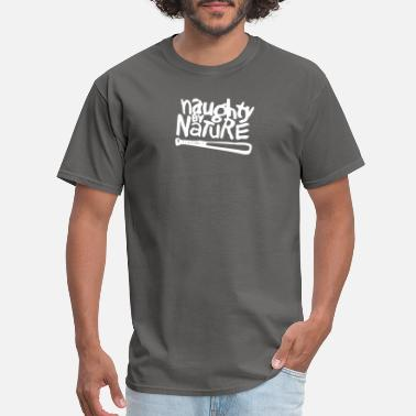 Belt Buckle Naughty by Nurture - Men's T-Shirt
