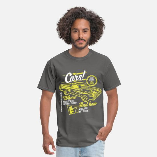 Collections T-Shirts - Cars - Men's T-Shirt charcoal