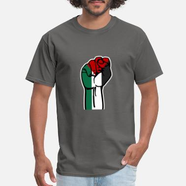Rebellion Revolution jerusalem rebellion revolution palestina gaza fre - Men's T-Shirt
