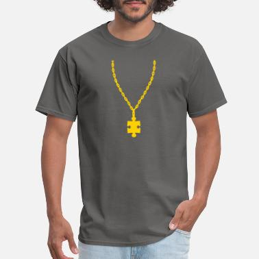 Golden Ratio gold puzzle gold necklace necklace jewelry part pu - Men's T-Shirt