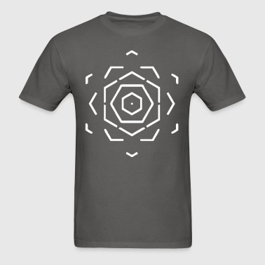 prism flower - Men's T-Shirt