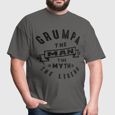 Grumpa The Myth - Men's T-Shirt
