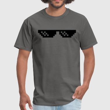 Deal With It Internet Meme Deal with it sunglasses - Men's T-Shirt