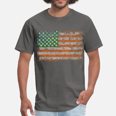 South Side Irish Lucky Irish States Of America - Men's T-Shirt