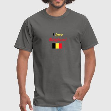 I love Belgium! - Men's T-Shirt