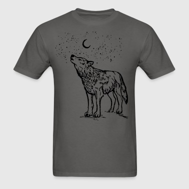 Wolf Moon - Men's T-Shirt