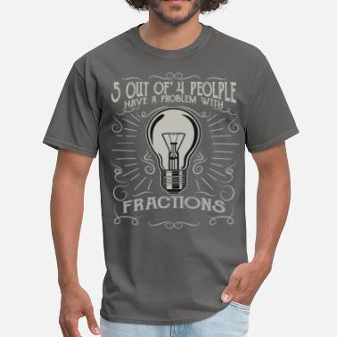 Fraction 5 out of 4 - Men's T-Shirt