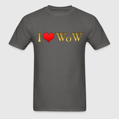 I heart WoW - Men's T-Shirt