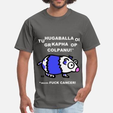 Fuck Pigs Fuck Cancer Fight Cancer Guinea Pig Hamster Cool - Men's T-Shirt