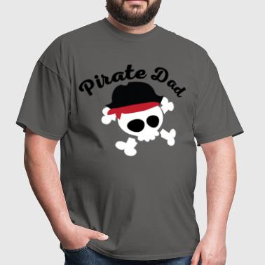 Pirate Dad Fathers Day - Men's T-Shirt