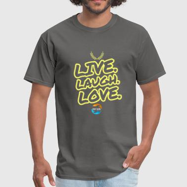 LIVE. LAUGH. LOVE. - Men's T-Shirt