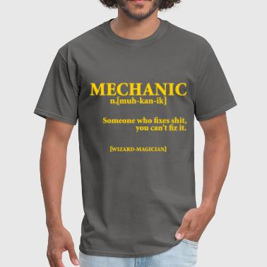 Lesbian Mechanic MECHANIC NOUN - Men's T-Shirt