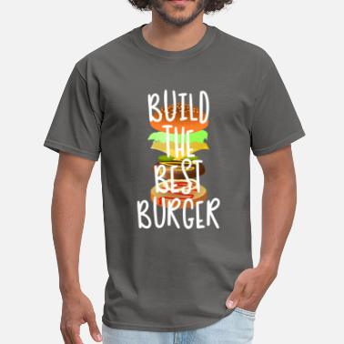 Appetite Build Burger | Stylish BBQ Food Gift - Men's T-Shirt