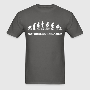 Natural Born Gamer - Men's T-Shirt