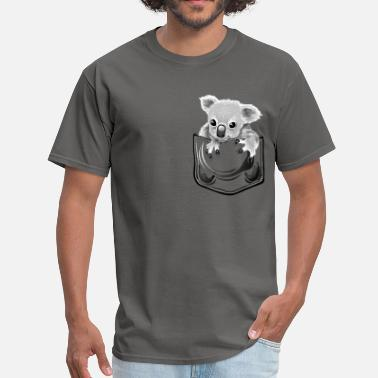 Koala Koala pocket - Men's T-Shirt