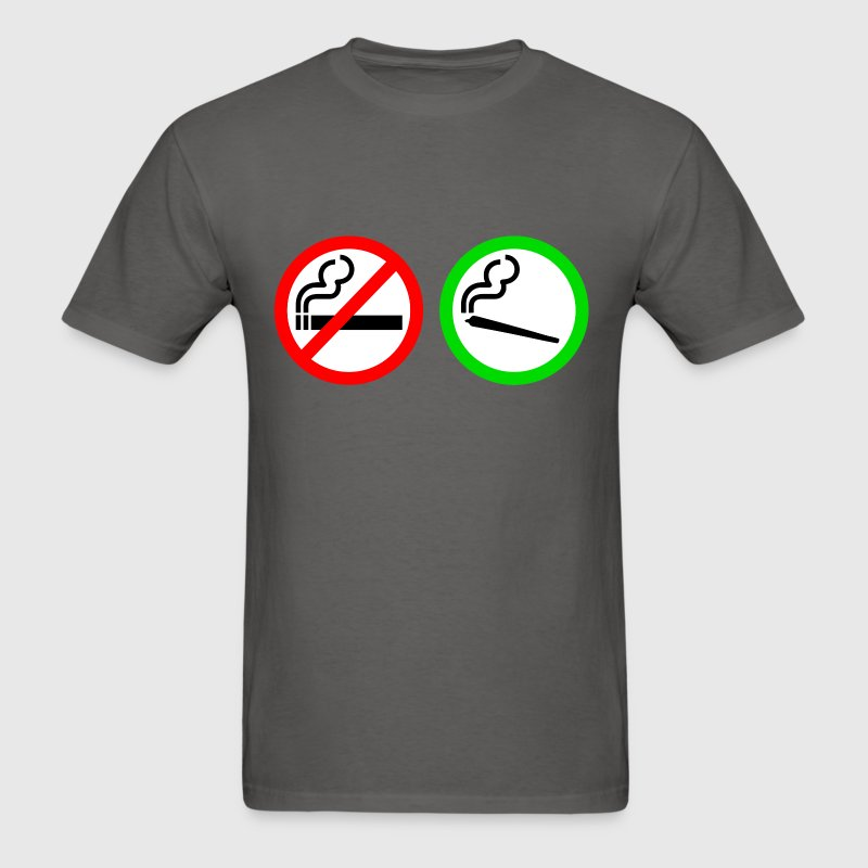 no smoking yes smoking - Men's T-Shirt