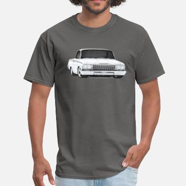 Bel Air 1962 Bel Air Sport Coupe drawing - Men's T-Shirt