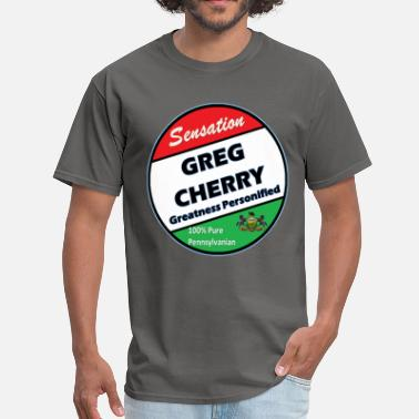 Greg Greg Cherry - 100% Pure Pennsylvanian - Men's T-Shirt