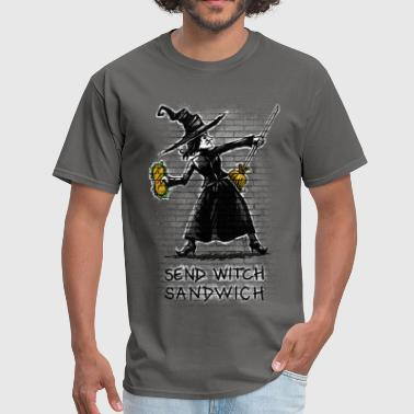 Anglais Send Witch Sandwich - Men's T-Shirt