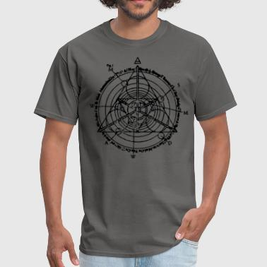 triangle of manifestation  - Men's T-Shirt