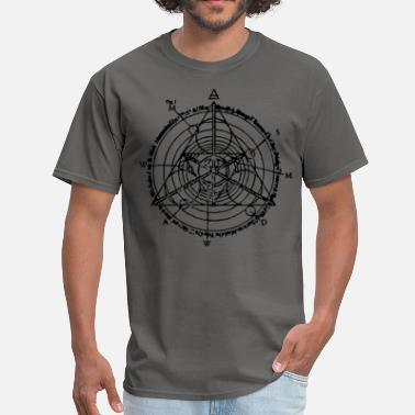 Manifester triangle of manifestation  - Men's T-Shirt