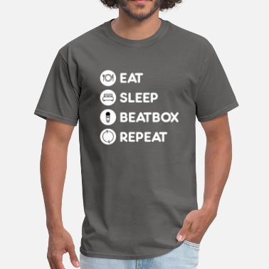 Beatbox Beatboxing Eat Sleep Repeat - Men's T-Shirt