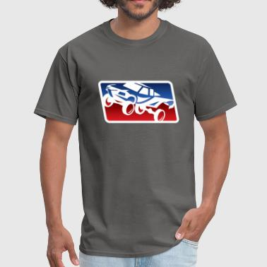 Race Trophy Truck Logo - Men's T-Shirt