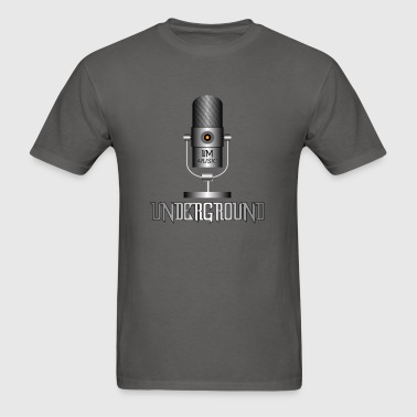 Underground Music - Men's T-Shirt