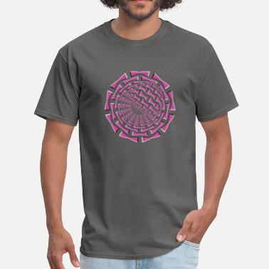 Optical 3d 3D Optical Illusion 01R - Men's T-Shirt