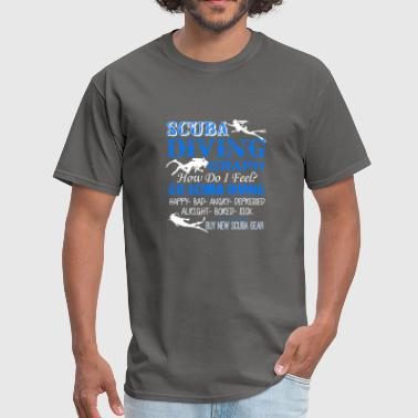 Scuba Diving Shirt - Men's T-Shirt