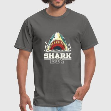 Shark boy - Funny Animal Gift - Men's T-Shirt