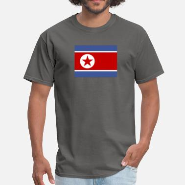 Kp Flag of Korea (kp) - Men's T-Shirt