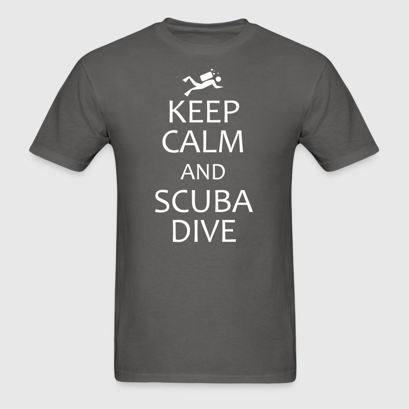 keep calm and scuba dive - Men's T-Shirt