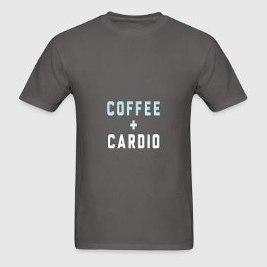 Coffee And Cardio - Men's T-Shirt