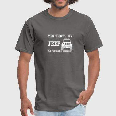 Jeep S That s My Jeep - Men's T-Shirt