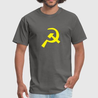 Communist Hammer And Sickle Hammer and Sickle Communist - Men's T-Shirt