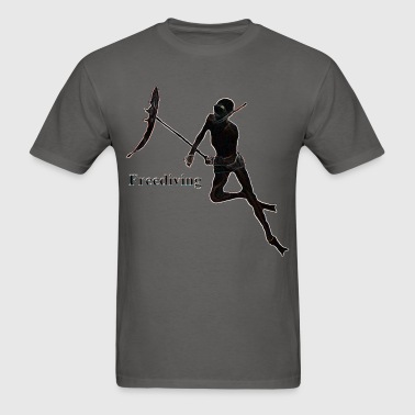 Freediving Spearfishing Breath Hold Diver - Men's T-Shirt