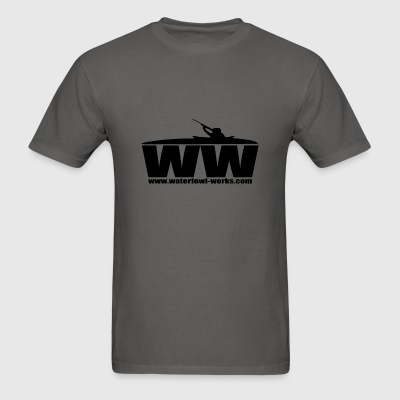 waterfowlworkslogo - Men's T-Shirt