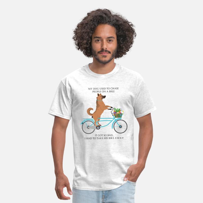 8f5356a7610f Funny Jokes T-Shirts - Funny German Shepherd Joke - Men s T-Shirt light