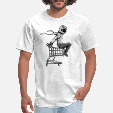 Black And White Collection Kart Racer V.2 - Men's T-Shirt