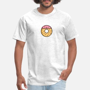 Cute Kawaii Donut - Men's T-Shirt