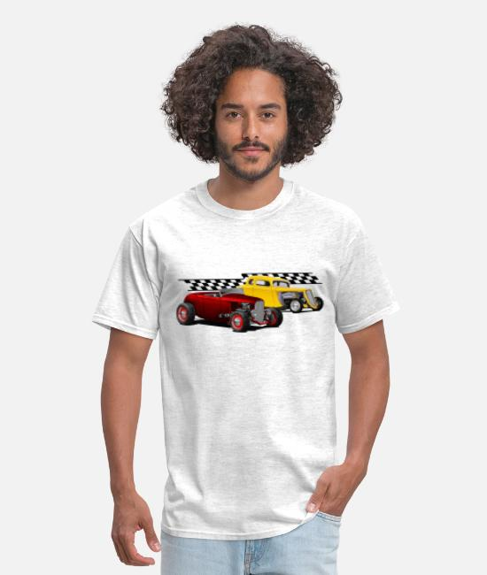1932 T-Shirts - pair of coupes - Men's T-Shirt light heather gray