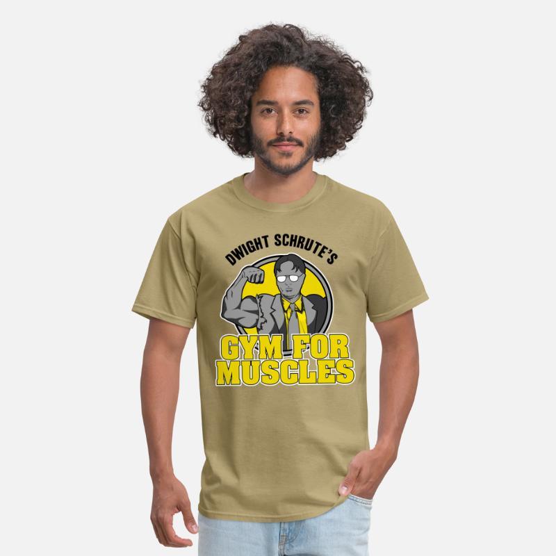 9d6d8e4d Dwight Schrute's Gym for Muscles Men's T-Shirt | Spreadshirt