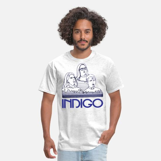 70s T-Shirts - Children indigo - Men's T-Shirt light heather grey