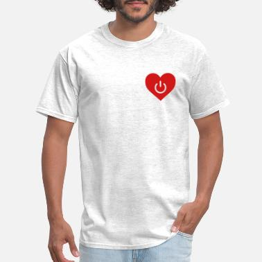 Relation power of love v1 - Men's T-Shirt