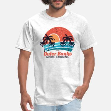 Banks The outer banks North carolina - Men's T-Shirt