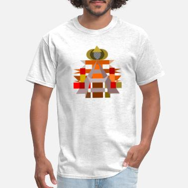 Contemporary Contemporary geometric architecture - Men's T-Shirt