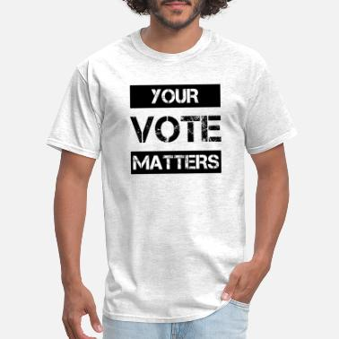 Rock The Vote Your Vote Matters, president election, USA - Men's T-Shirt