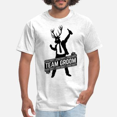 Bachelor Party Team Groom / Stag Party (1C) - Men's T-Shirt